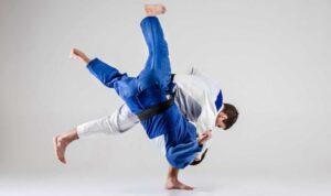 Тренировки по дзюдо