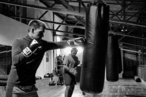 Занятия боксом