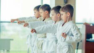 Детские занятия карате в Киеве