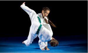 Занятия дзюдо для детей
